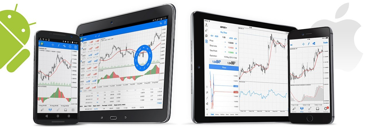 MetaTrader 4 для Android, iphone, iPad