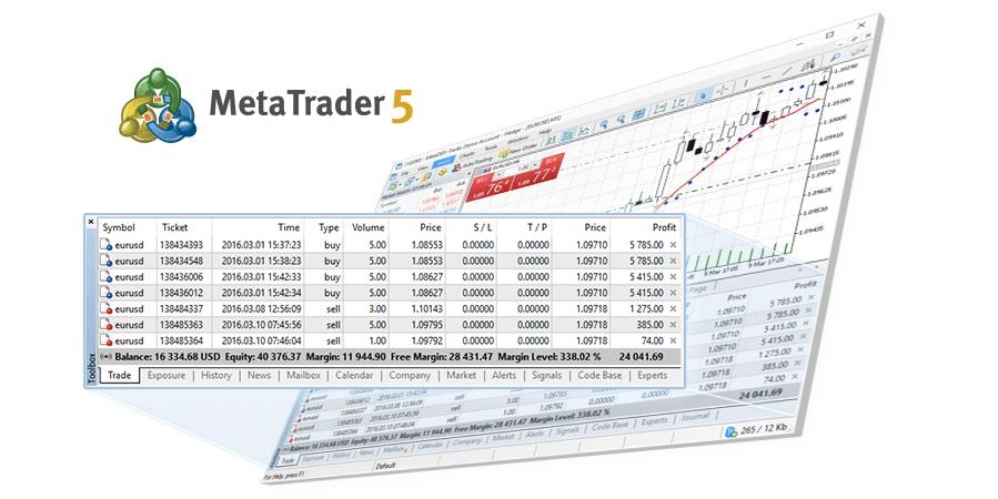 Руководство пользователя по торговой платформе MetaTrader 5.